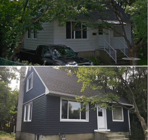 Ottawa Siding Project – Queen Merry St